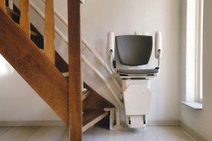 Einbaubeispiel Sitz-Treppenlift